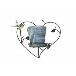 Coeur Porte-Pot + Pot...