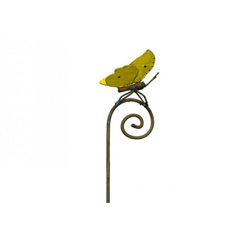 Tuteur Papillon Citron de Provence