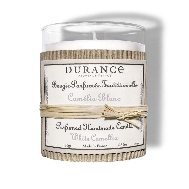 Bougie Camélia Blanc de Provence