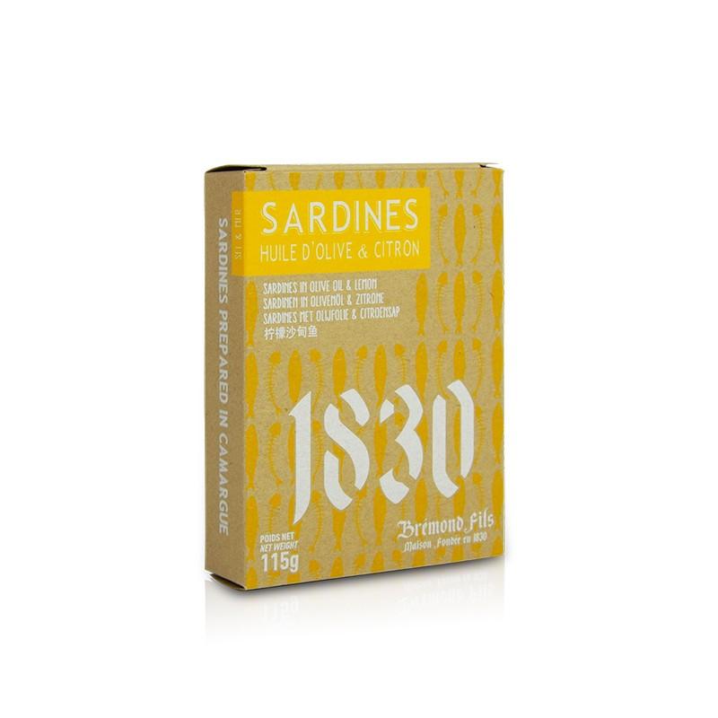 Sardines Huile d'Olive de Provence