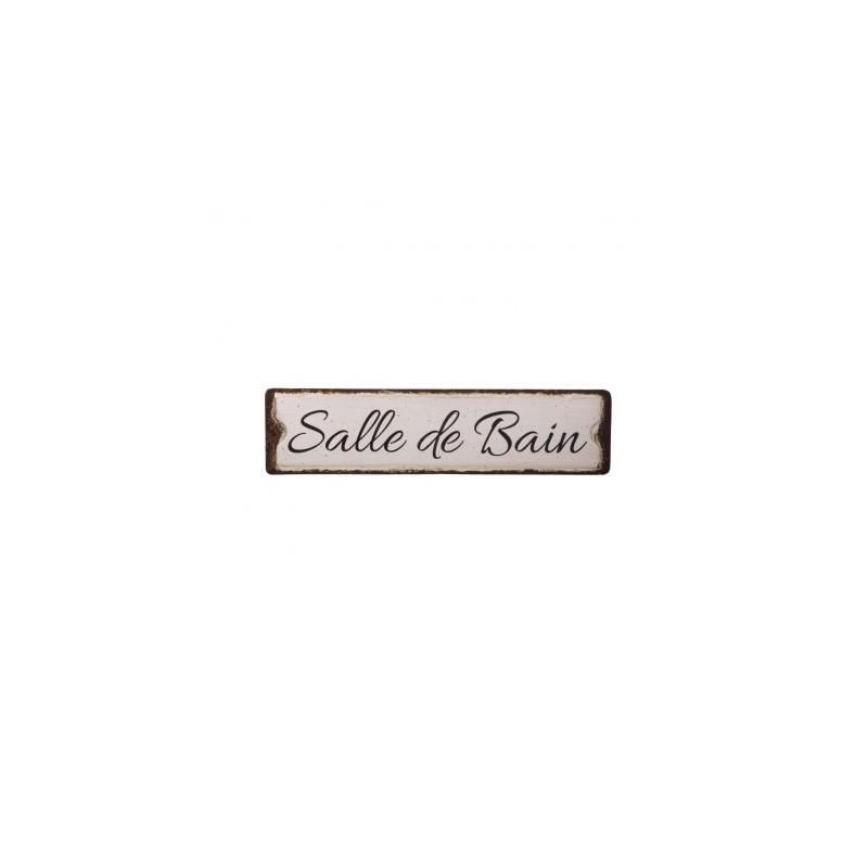 Plaque Métallique SALLE de Provence