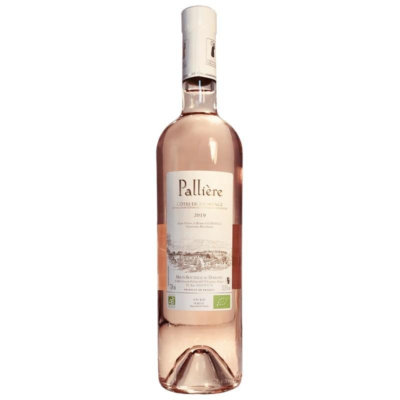 Vin Rosé Bio de Provence