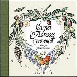 CARNET ADRESSES PROVENCAL Provençal