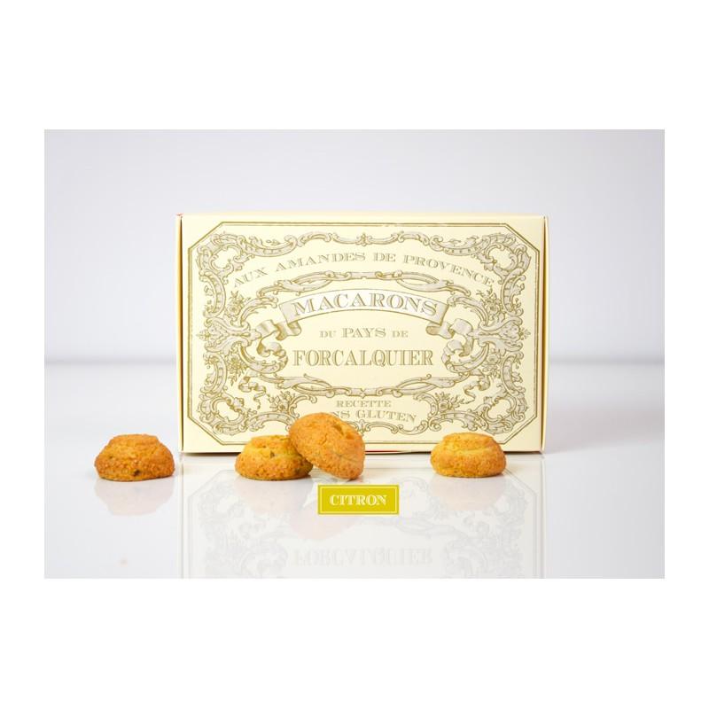 Macarons Citron 230g de Provence